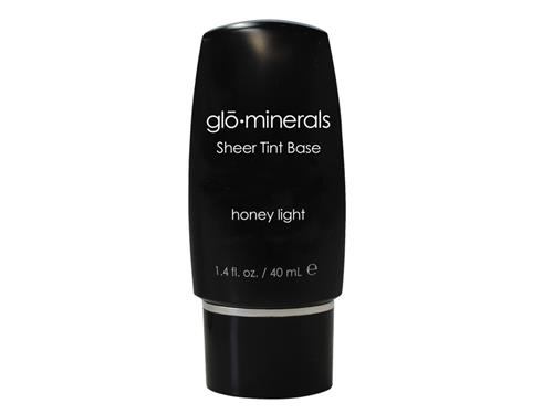 glo minerals GloSheer Tint Base - Honey - Light