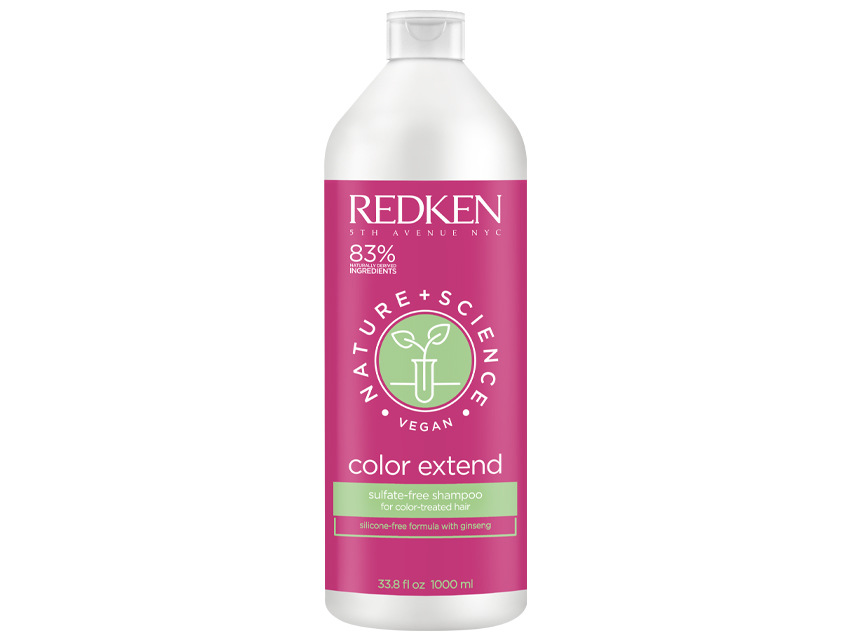Redken Nature + Science Color Extend Sulfate-Free Shampoo - 33.8 fl oz