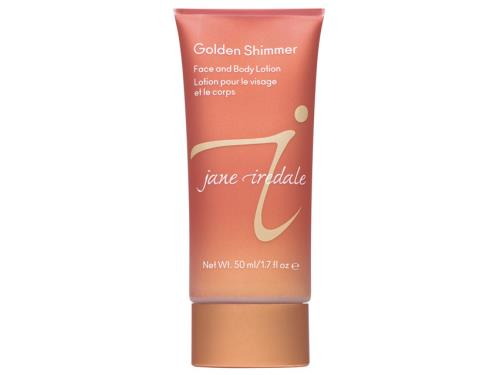 Jane Iredale Golden Shimmer Face and Body Lotion