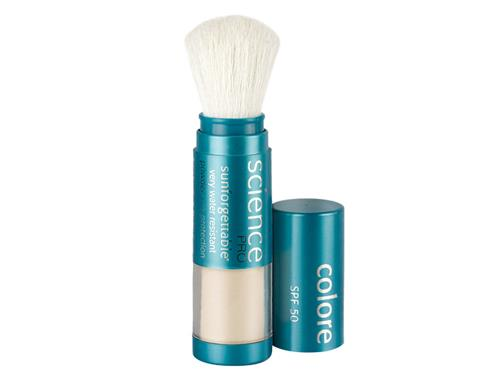 Colorescience Sunforgettable Mineral Sunscreen Brush SPF 50 - Fair (formerly All Clear)