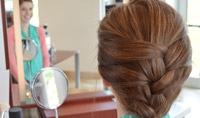 Trend Testers: French Braid Ponytail