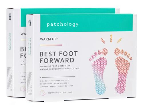 patchology Best Foot Forward Softening Foot & Heel Mask - Pack of 2