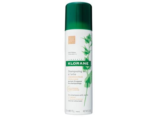 Klorane Dry Shampoo with Oat Milk - Natural Tint - Aerosol