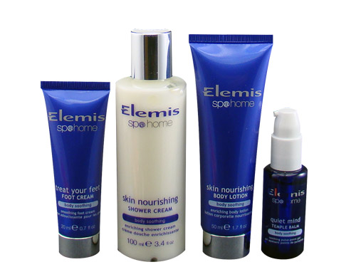 Elemis Nourishing Treasures Bodycare Collection