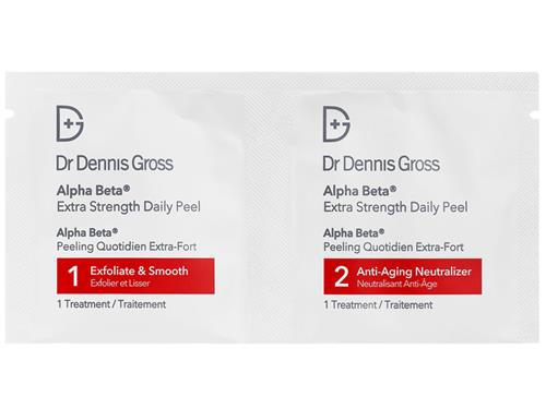 Dr. Dennis Gross Extra Strength Alpha Beta Face Peel (60 Packettes)