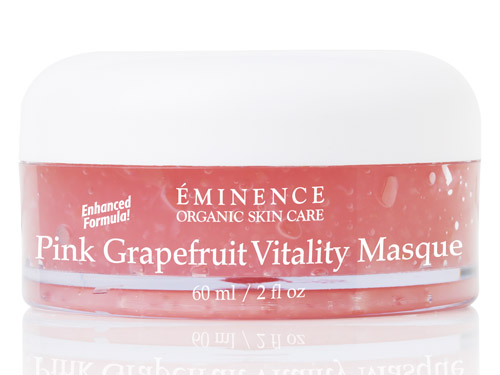 Eminence Pink Grapefruit Vitality Masque: buy this grapefruit mask.