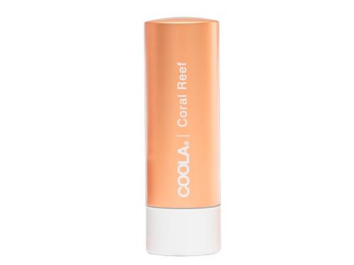 COOLA Mineral Liplux SPF 30 Organic Tinted Lip - Coral Reef