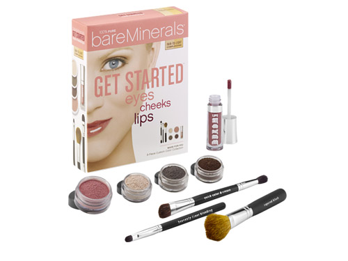 BareMinerals Get Started:  Eyes, Cheeks, Lips