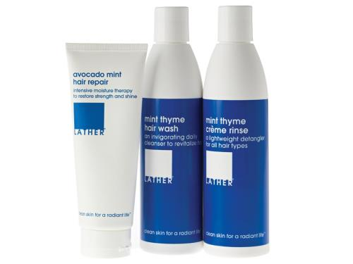 LATHER Hair Appoint-Mint Trio