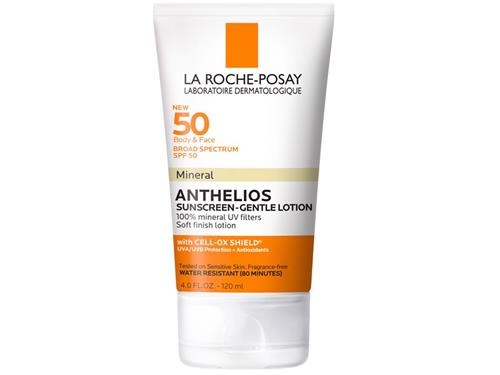 La Roche-Posay Anthelios Mineral Gentle Sunscreen Lotion SPF 50 - 4 oz