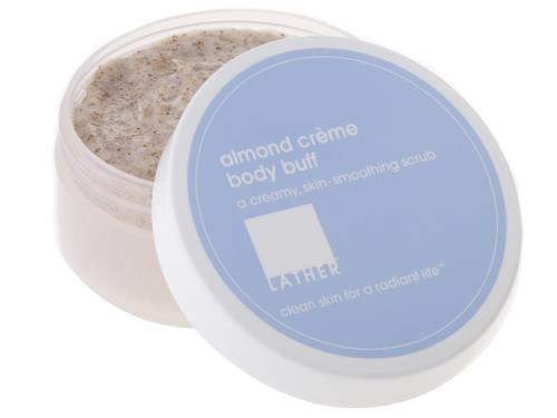 LATHER Almond Crème Body Buff