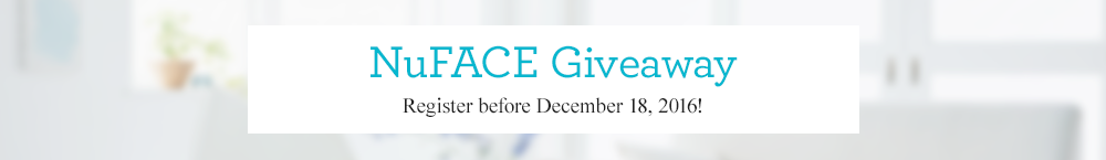 NuFACE Holiday Giveaway