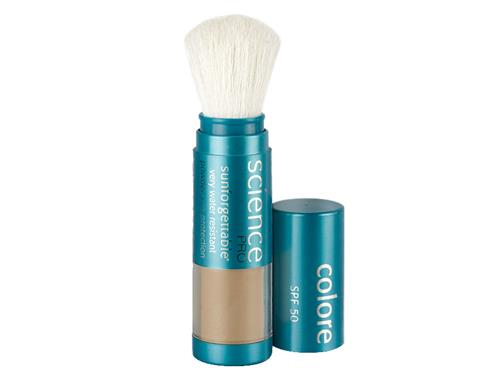 Colorescience Sunforgettable Mineral Sunscreen Brush SPF 50 - Deep