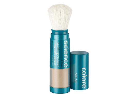 Colorescience Sunforgettable Mineral Sunscreen Brush SPF 50 - Medium (formerly Perfectly Clear)