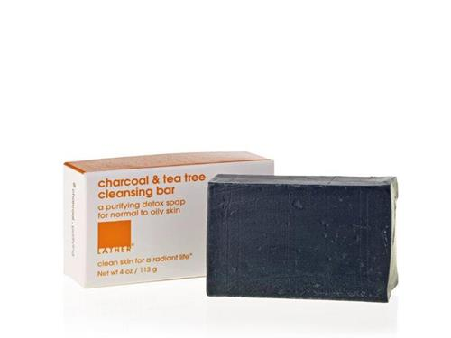 LATHER Charcoal & Tea Tree Cleansing Bar