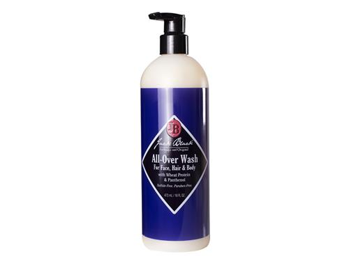 Jack Black All-Over Wash for Face, Hair, & Body - Pump 16 oz