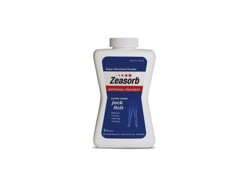 Zeasorb Antifungal Treatment Powder for Jock Itch (Miconazole Nitrate 2%)