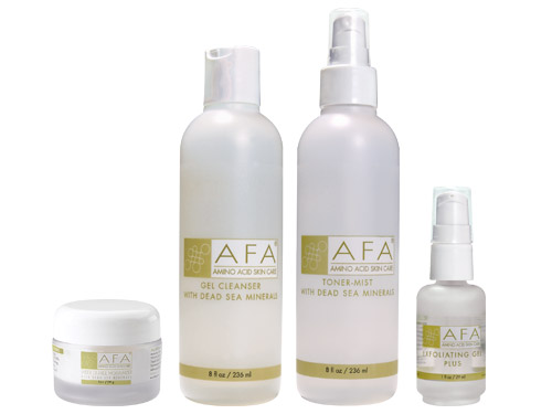 AFA Wrinkle Relief Starter Set for Oily Skin - Step Two Plus