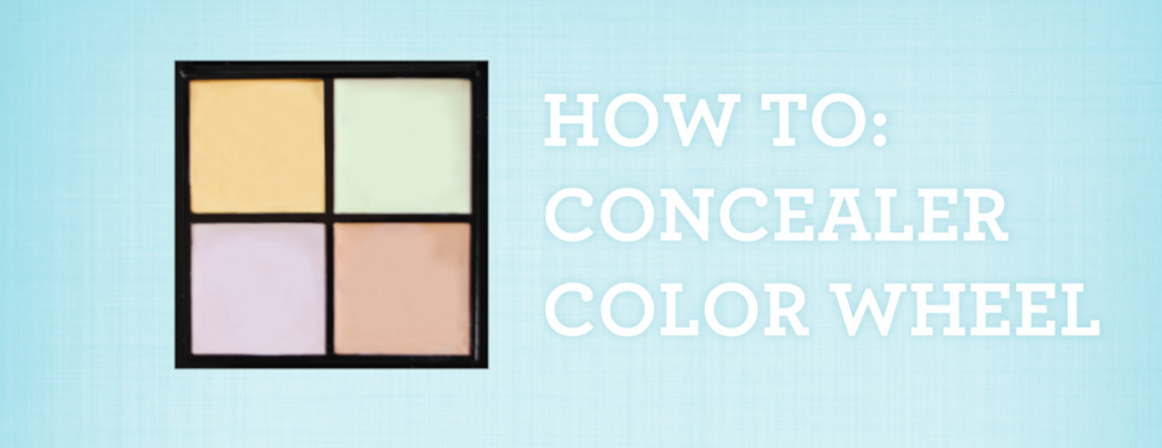 How to Use a Color Concealer Palette