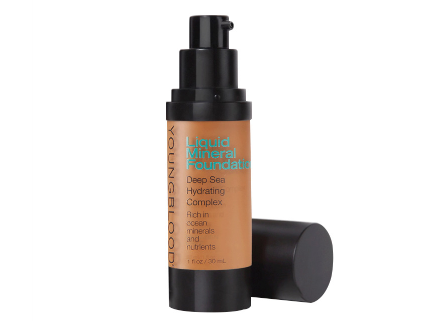 Youngblood Liquid Mineral Foundation - Chestnut