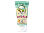 Badger Aloe Vera Broad Spectrum SPF 16 Sunscreen Lotion Unscented