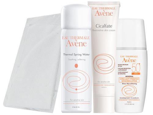 Avene thermal spring water facial compress