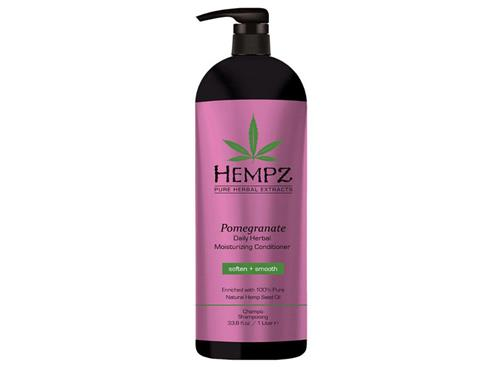 Hempz Haircare Pomegranate Daily Herbal Moisturizing Conditioner Liter