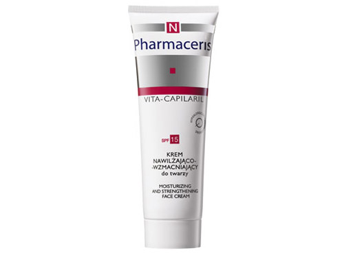 Pharmaceris N VITA-CAPILARIL Moisturizing and Strengthening Face Cream SPF 15