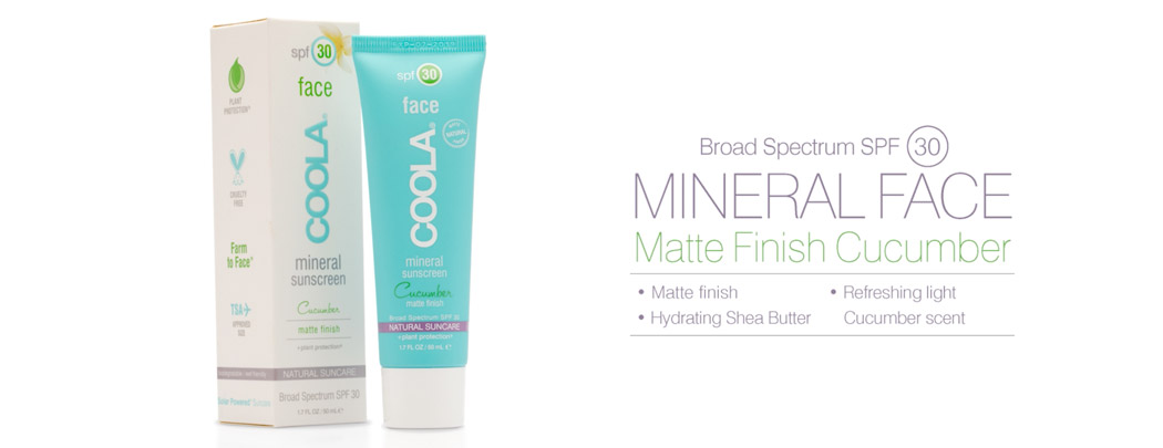 Mineral Face SPF 30 Matte Finish Cucumber
