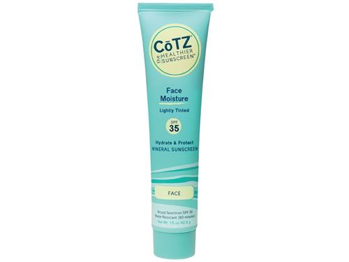 CoTZ Face Moisture SPF 35 Lightly Tinted