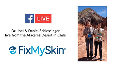 Live from the Atacama Desert with the Schlessinger's!