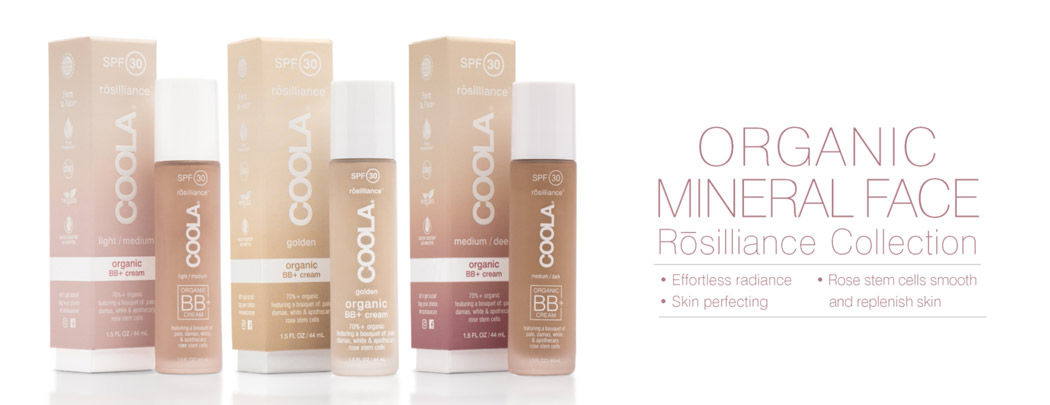 COOLA Beauty Rosilliance SPF 30 Collection