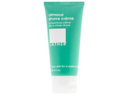 LATHER Almond Shave Crème - 2 oz