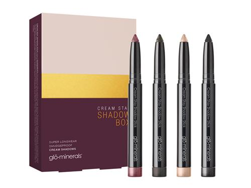 glo minerals Cream Stay Shadow Stick Limited Edition Box Collection