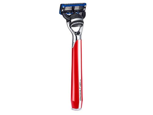The Art of Shaving Morris Park Collection Fusion Razor - Signal Red