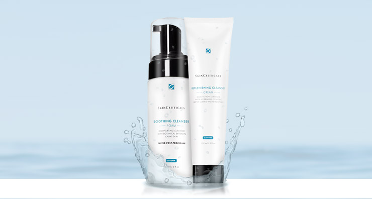 New SkinCeuticals Cleansers: How to Select the Best Cleanser for your Skin