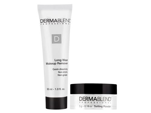 Free $15 DermaBlend Makeup Setting Powder and Remover Travel Duo