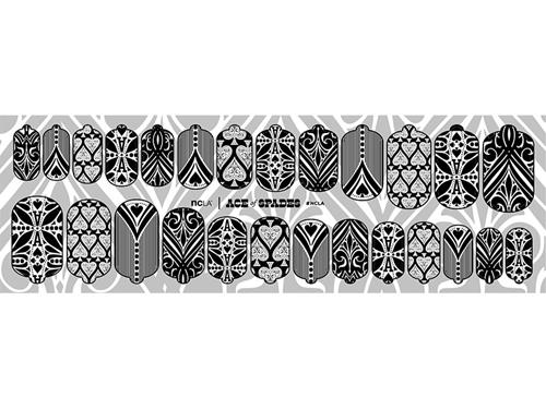 ncLA Nail Wraps - Ace of Spades
