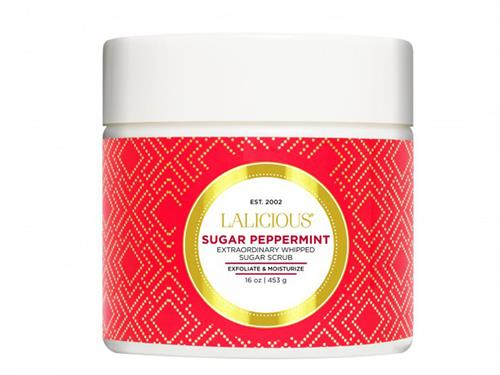 LALICIOUS Extraordinary Whipped Sugar Scrub - Sugar Peppermint