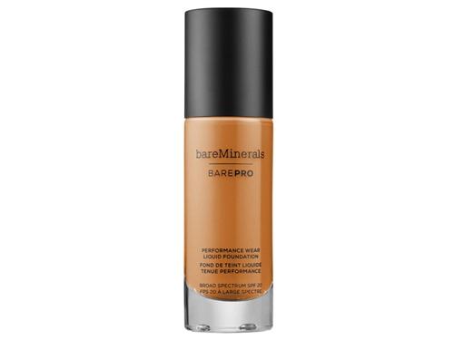 bareMinerals barePRO Performance Wear Liquid Foundation SPF 20 - Cinnamon 25